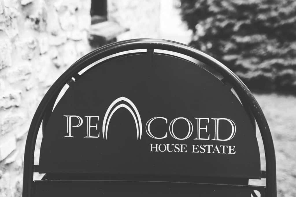 Pencoed House sign