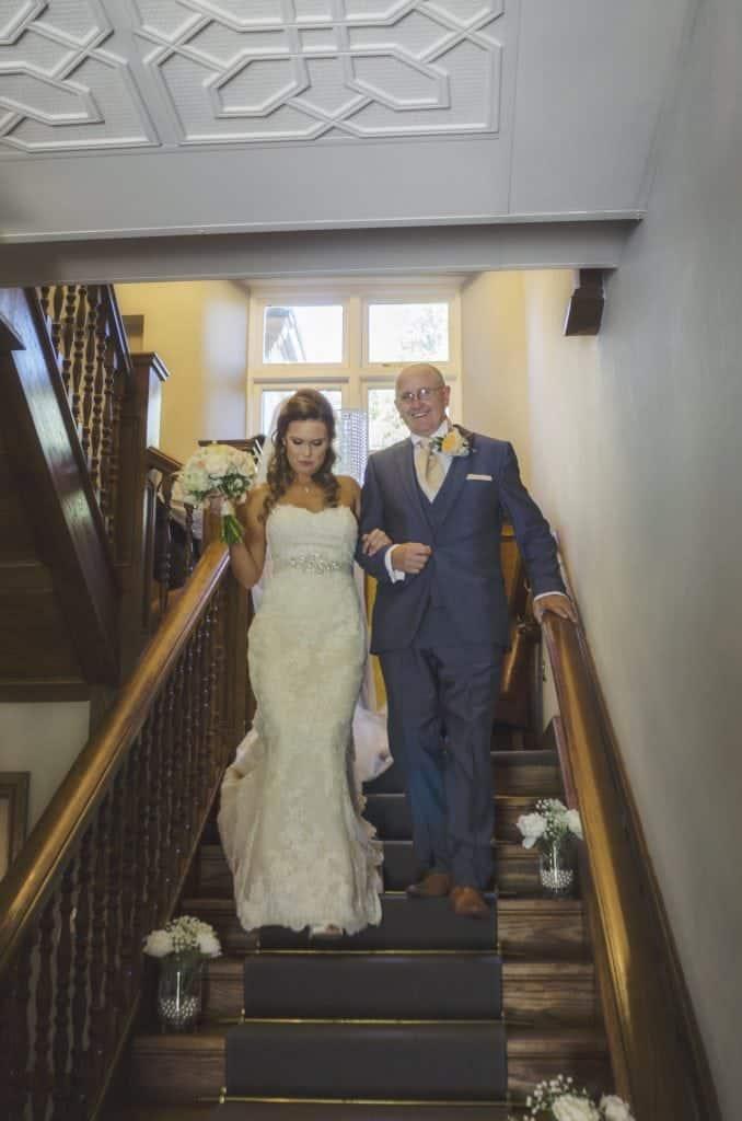 Rachel & Rhys ~  Bryngarw House