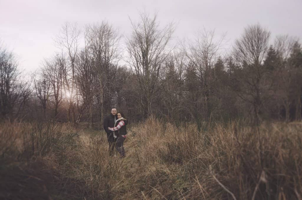 Laura and Chris ~ Pre Wedding Shoot Wentwood Forest