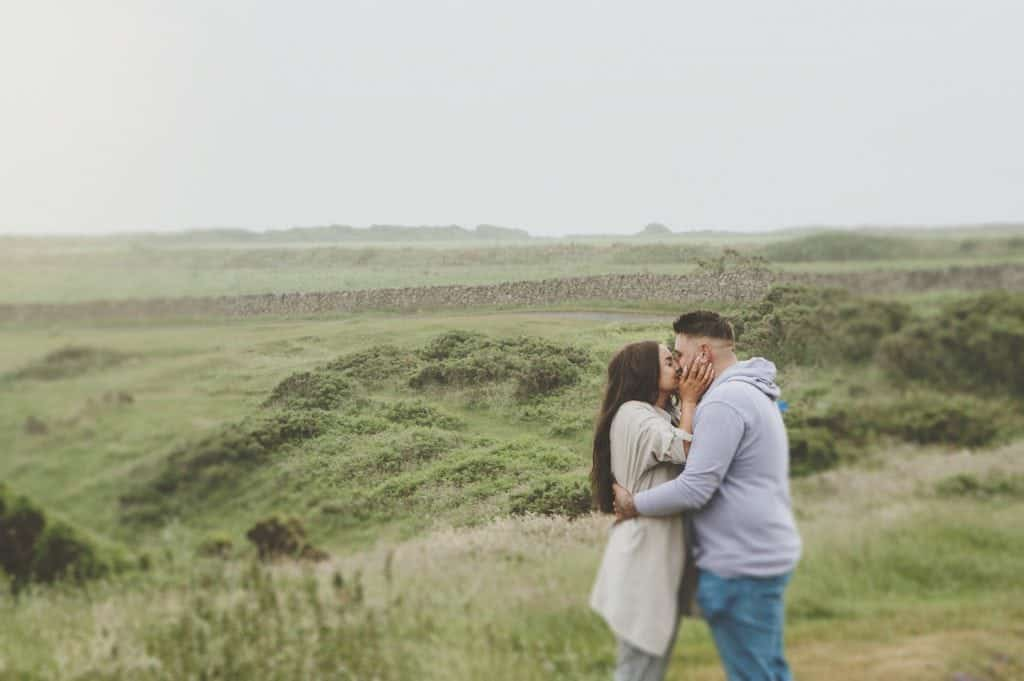 Vicki & Phil Pre-Wedding Shoot Rhossili Bay