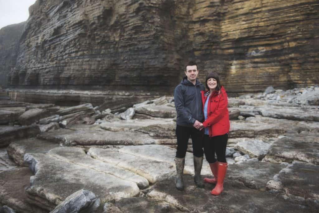 Sara & Dan ~ Pre Wedding Shoot Dunraven Bay