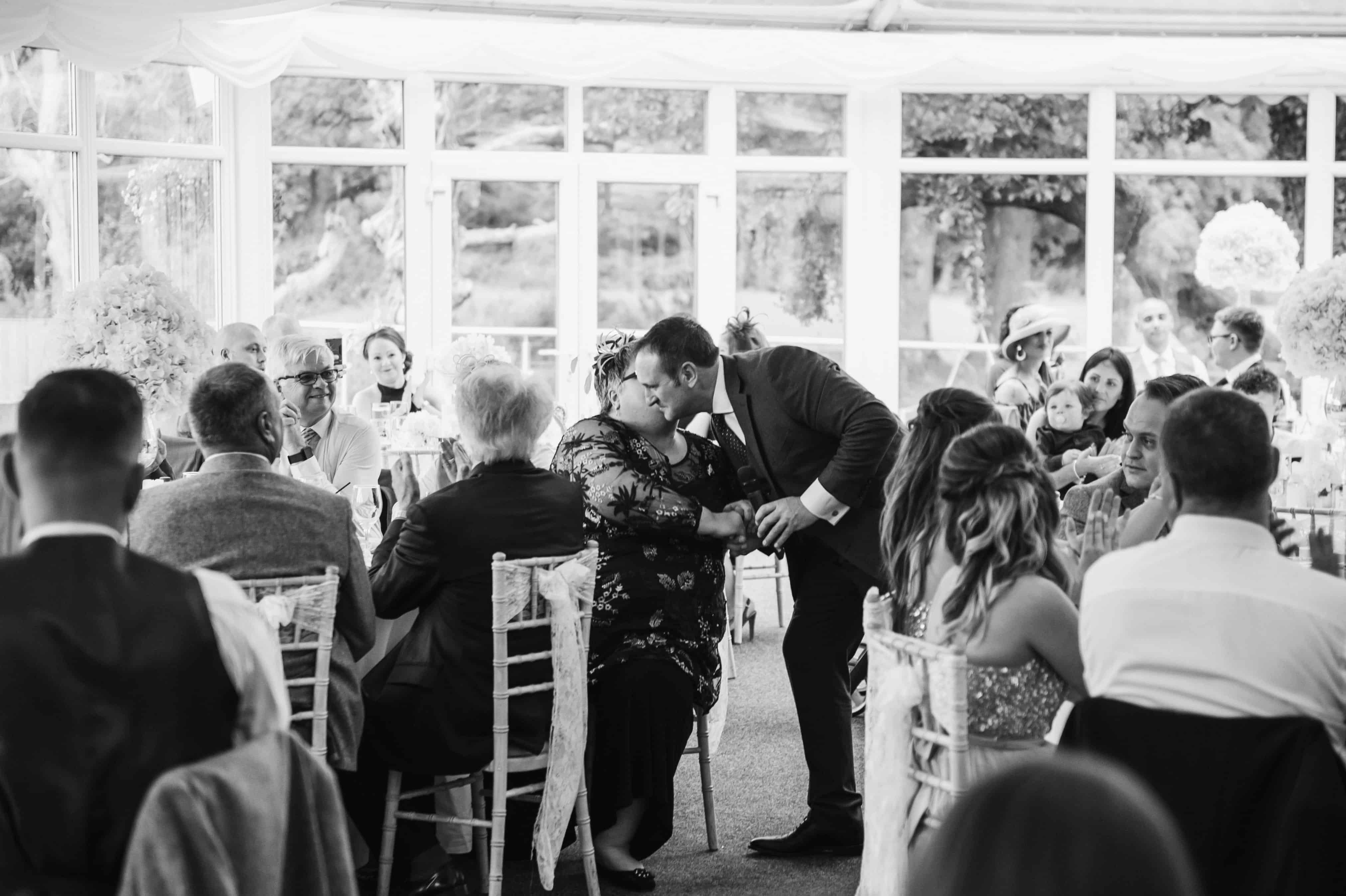 wedding speeches Oldwalls Wedding Photographer