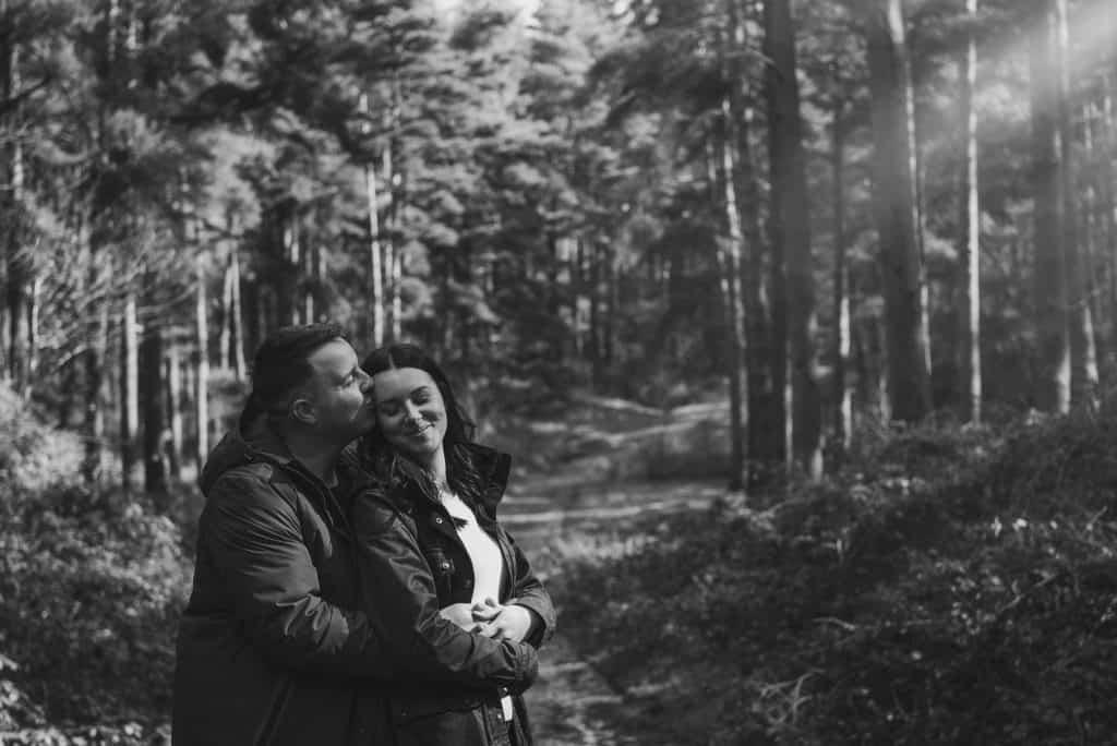 Tracey & Gwydion ~ Pre Wedding Shoot Blaen Bran Community Walk